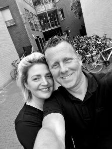 Patricia en Raymond Hofs van Schoonmaakbedrijf Hofs Arnhem