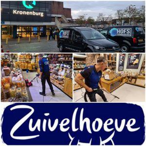 Zuivelhoeve Arnhem Kronenburg Schoonmaakbedrijf Hofs schrobben vloeren