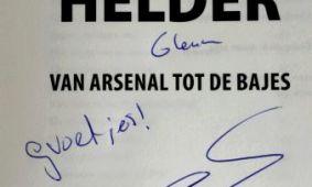 Schoonmaakbedrijf Hofs Arnhem bij boek presentatie Glenn Helder 1