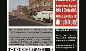 Jubileumboek | Arnhemse Boys Schuytgraaf | Schoonmaakbedrijf Hofs | Ome Joops Tour 1