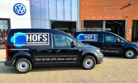 Schoonmaakbedrijf Hofs | Nieuwe Bedrijfsauto | ZIJM 1