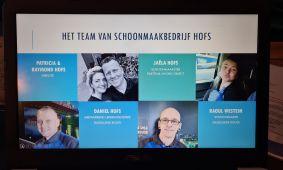 Schoonmaakbedrijf Hofs | Powerpoint Pitch | BNI De Oorsprong Oosterbeek 1
