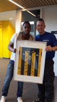 Schoonmaakbedrijf Hofs en Vitesse veilen shirt tijdens Benefiet avond voor Stichting Energy4All