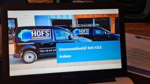 Schoonmaakbedrijf Hofs | Powerpoint Pitch | BNI De Oorsprong Oosterbeek
