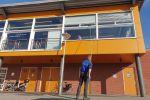 Schoonmaakbedrijf Hofs Arnhem | Nijmegen | Ede | Glasbewassing | Glazenwassen Tuckerpole sportvereniging