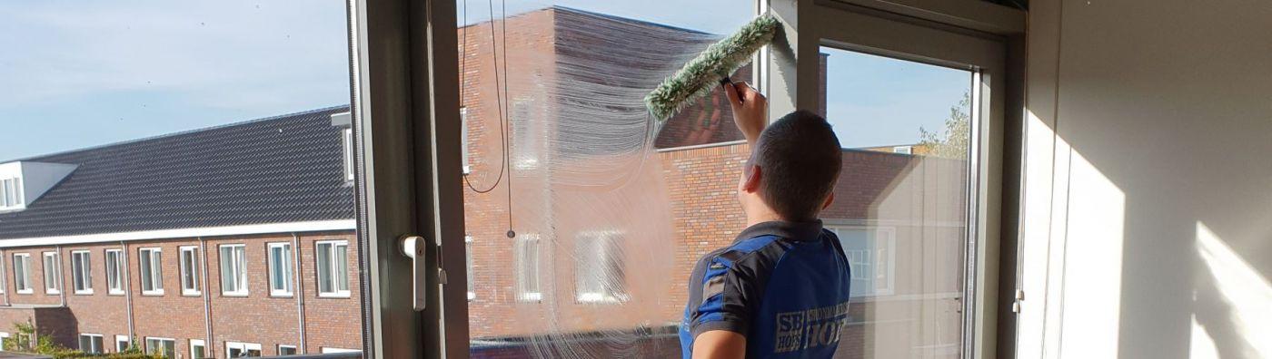 Schoonmaakbedrijf Hofs Arnhem - Glasbewassing binnen in Zorginstelling